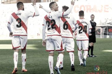 Rayo Vallecano - CF Reus: puntuaciones del Rayo Vallecano, jornada 31ª Segunda División