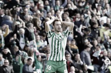 Loren Morón celabrando un gol | Fuente: La Liga<br>