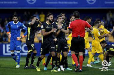 Imagen del choque de la primera vuelta. Foto: La Liga