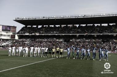 Jugadores del Rayo Vallecano antes de un partido | Fotografía: La Liga