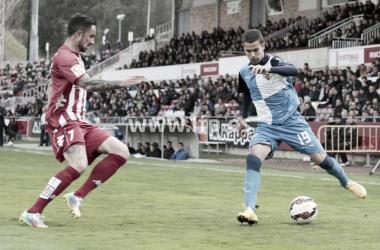 Partido entre Girona y Sabadell en Montilivi / Fuente: LFP