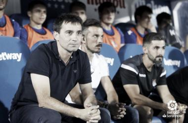 """Asier Garitano: """"Es un buen balance, un 4/6 no está nada mal"""""""