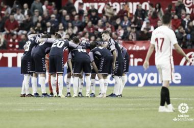 Valentía, clave para ganar al Sevilla