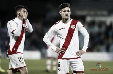 Álex Moreno después de un partido | Fotografía: La Liga