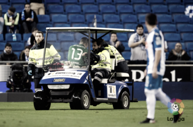 Preocupación en Leganés por la lesión de Serantes   Foto: LFP.