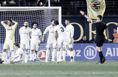 Gil Manzano en el Villarreal - Real Madrid disputado hace dos temporadas / Foto: LaLiga
