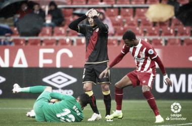 Trejo lamentándose de una acción | Fotografía: La Liga