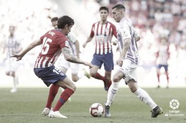 Sergi Guardiola ante Savic // Foto: La Liga