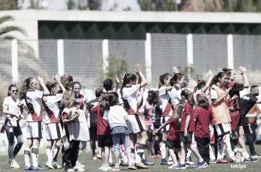 Jugadoras del Rayo Femenino   Fotografía: La Liga