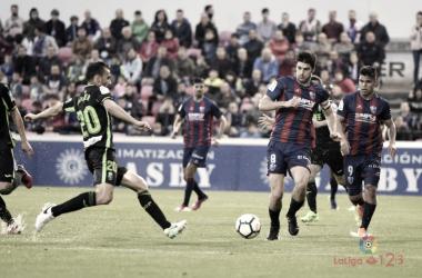 Cucho y Melero máximos goleadores en una campaña en el Huesca