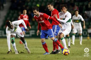 El Real Zaragoza suma ya 7 jornadas sin ganar / Foto: Laliga.es