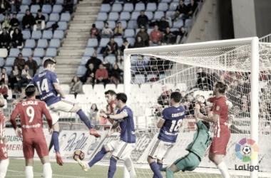 UD Almería - Real Oviedo: Puntuaciones del Real Oviedo, jornada 23 Segunda División 2017