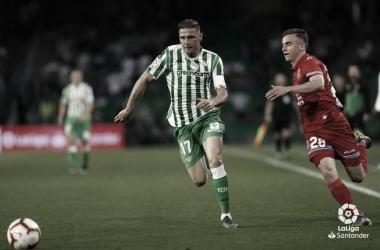Joaquín en una jugada ante el Espanyol   Foto: LaLiga Santander