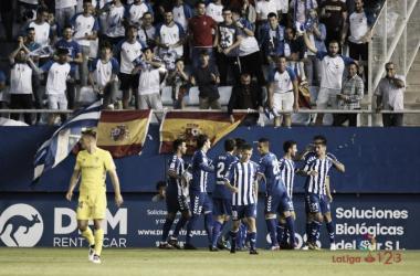 El Lorca FC desaparece. | Foto: laliga.es