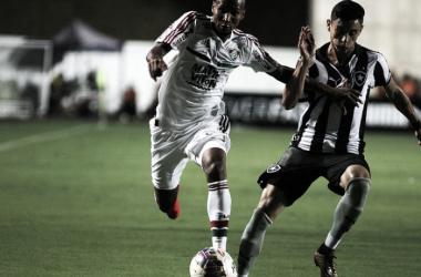 Jogadores do Fluminense lamentam derrota no clássico contra Botafogo