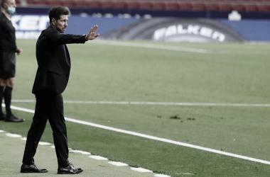 """Simeone: """"Nos caemos y nos volvemos a levantar, esto somos nosotros"""""""