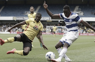 Watford lost 2-0 to Queens Park Rangers at Loftus Road (Photo: Back Page Images)
