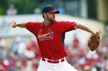 Adam Wainwright pitched four scoreless innings Saturday. --St. Louis Post-Dispatch,www.stltoday.com