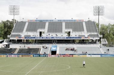 WakeMed Stadium: potential home for a NWSL franchise (photo courtesy of Rob Kinnan-Carolina RailHawks)