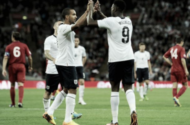 Theo Walcott and Danny Welbeck offer England options in attack.