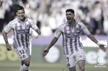 Waldo celebra su primer gol con el primer equipo | LaLiga