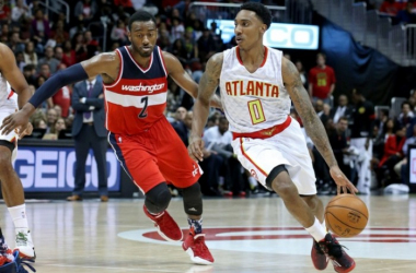 John Wall Leads Washington Wizards To 117-102 Win Over Atlanta Hawks