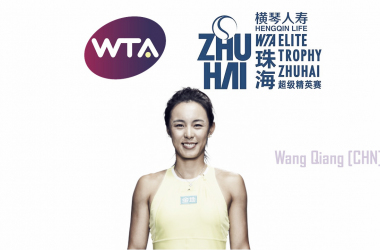 Wang Qiang has directly qualified for the WTA Elite Trophy and will be making her debut | Edit: Don Han