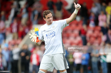 Danny Ward in action with Leicester City | Photo: Getty/ Plumb Images