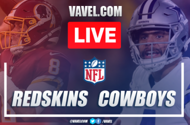 Score and Touchdowns: Washington Redskins 16-47 Dallas Cowboys in NFL 2019