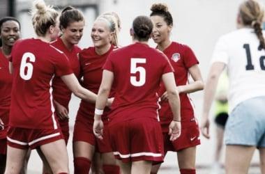 Washington Spirit update preseason roster after 5-0 win against UNC. | Source: Washington Spirit, @WashSpirit