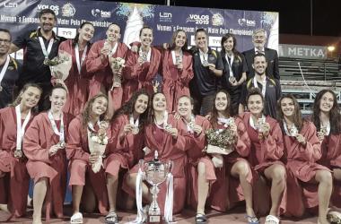La selección española juvenil tras ganar el Europeo/ Imagen: @RFEN