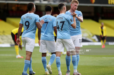 How Manchester City could line-up against Wolverhampton Wanderers