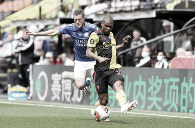 Watford e Leicester ficam no empate em jogo com golaços na reta final
