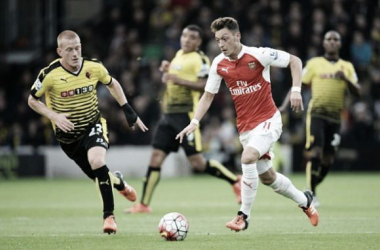 Watford 0-3 Arsenal: Gunners blow Hornets away with eleven-minute goal blitz