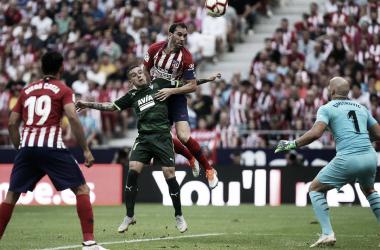 El Atlético de Madrid no consiguió vencer al Eibar en el Metropolitano || FOTO: Club Atlético de Madrid.