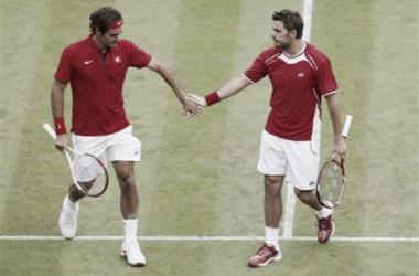Os dois suíços fazem uma grande temporada em 2014 (Foto: Divulgação / Reuters)