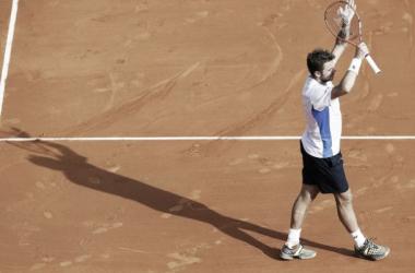 Wawrinka protagonizou um grande jogo contra o amigo e rival Roger Federer (Foto: Divulgação / AFP)