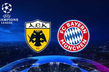Previa AEK Atenas - Bayern Múnich: los bávaros buscan conquistar Grecia