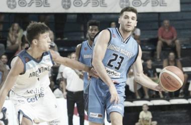 Argentino se queda corto ante un brillante Bahia Basket. Foto: La Liga Contenidos Movistar