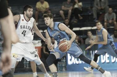 Weber Bahía comenzó a sumar victorias y ya empieza a carburar la máquina. Foto: Prensa Weber Bahía Basket