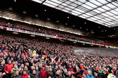 Fans across England are vocally opposed to the new plans.Photo by Ashley Donelon/Manchester United via Getty Images