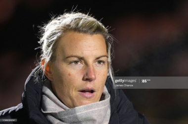 Bristol City manager Tanya Oxtoby pleased despite 4-0 thrashing to Everton