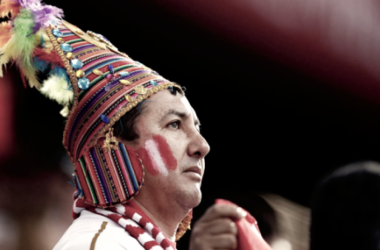 El mundose rinde ante el fervor del hincha peruano (Foto: Reuters)