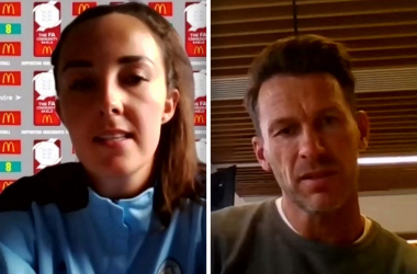 Gareth Taylor and Caroline Weir's thoughts ahead of the first Community Shield since 2008