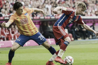 Hertha BSC set to sign Bayern's Mitchell Weiser