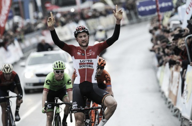 Tim Wllens batió a sus compañeros de fuga en Coín | Fotografía: Vuelta a Andalucía.
