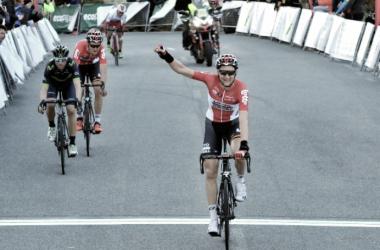 Wellens celebra su segunda victoria. Foto: Challenge de Mallorca