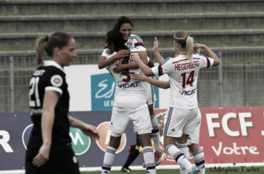 Lyon confirme face à Juvisy