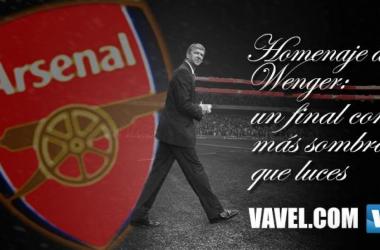Homenaje a Wenger: un final con más sombras que luces