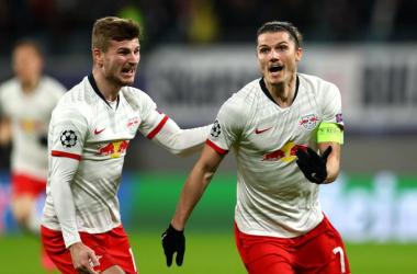 Il Lipsia demolisce il Tottenham nel segno di Sabitzer, tedeschi ai quarti di finale (3-0)